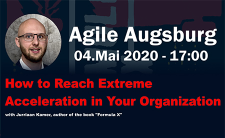 Jurria Kamer Author of Formula X about how to reach extreme acceleration in your organization
